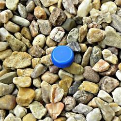 Víčko modré PET keška mikro