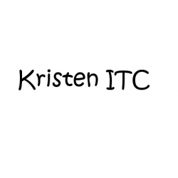Písmo Kristen ITC