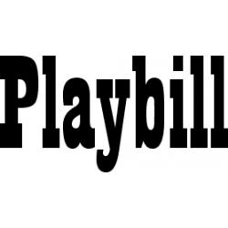 Písmo Playbill