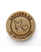 Czech Wood Geocoin