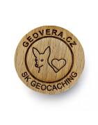 Ostatní Wood Geocoin - xWG